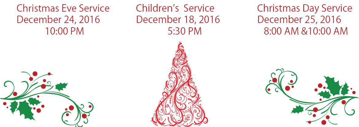 http://www.graceepiscopalwpb.orgChristmas Service Schedule